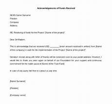 Payment Received Letter Letter Of Receipt Of Payment Acknowledgement Letter How To