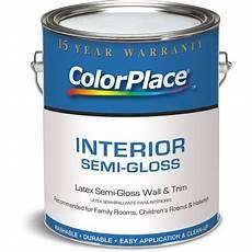 Walmart Paint Color Chart Colorplace Grab N Go White Semi Gloss 1 Gal Walmart Com