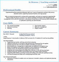 assistant cv sample teaching assistant cv example with tips get the best ta jobs