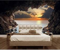 Cave Sofa 3d Image by 3d Wallpaper Photo Wallpaper Custom Mural Bedding Room