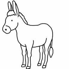 Malvorlage Esel Einfach A E Nomengrafiken Zum Ausmalen Material Klasse 1