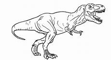 Malvorlage Dinosaurier Rex Jurassic World T Rex Coloring Pages To Print Free