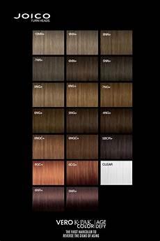 Joico Color Chart Joico Vero K Pak Age Defy Colour Palette Joico Hair