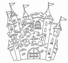 Malvorlagen Ritterburg Test Prinzessinnen Schloss Ausmalbild