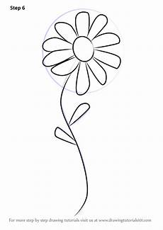 Drawings Of A Flower Learn How To Draw A Flower For Kids Flowers Step By Step