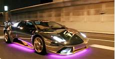 Lambo Lights For Frs Crazy Led Covered Lambos Cruise The Streets Of Tokyo