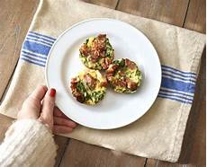 easy healthy breakfast recipe mini kale frittata cait