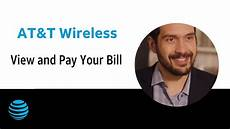 Att Wireless Customer Support View And Pay Your At Amp T Bill At Amp T Wireless Support Youtube