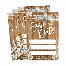 Wedding Save The Date Postcards 50 Rustic Save The Date Cards For Wedding Engagement
