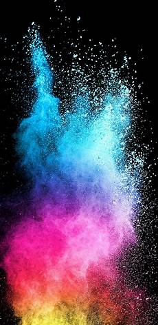 Iphone Wallpaper Black Galaxy by Abstract Colorful Powder With Background For Samsung