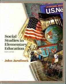 Social Studies In Elementary Education Social Studies In Elementary Education 8th Edition Rent