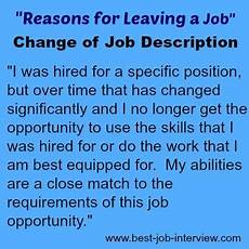 Best Reason For Leaving A Job Acceptable Reasons For Leaving A Job
