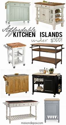 Portable Kitchen Islands In 11 Clean White Design Rilane Where To Buy Affordable Kitchen Islands Maison De Pax