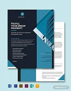 Single Page Brochure Template Free One Page Brochure Template Word Doc Psd