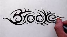 Cool Designs With Names Custom Designs Hidden Tribal Name Youtube