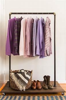 diy clothing rack how to make a mobile clothing rack hgtv
