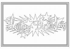malvorlagen gratis einhorn happy birthday malvorlagen