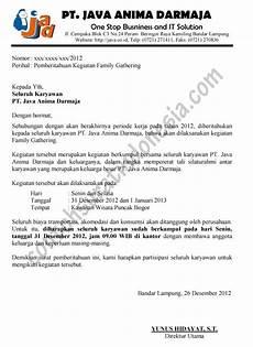 contoh surat undangan natal ke gereja lain