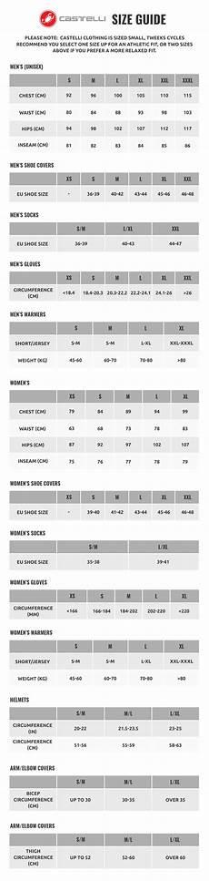 Castelli Leg Warmers Size Chart Buy Castelli Squadra Er Jacket Tweeks Cycles