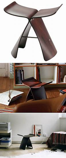 sori yanagi butterfly rosewood vitra butterfly stools