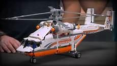 Design Technic Heavy Lift Helicopter Lego Technic Designer Video