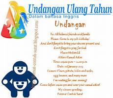 contoh kalimat invitation menggunakan bahasa inggris