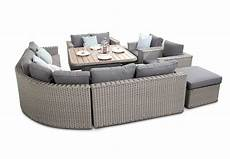 brantwood luxury modular rattan sofa dining set with