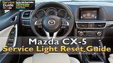 2015 Mazda 6 Oil Light Reset Mazda Cx 5 Service Light Reset Youtube