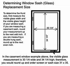 Standard Replacement Window Size Chart How To Determine Sash Size Of Hurd Window