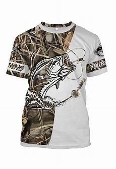 custom camo bass fishing shirts all printed t shirt