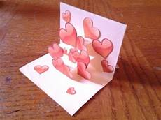 pop up card tutorial easy and simple pop up card tutorial for beginners 2