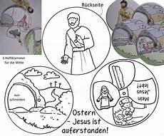 Ausmalbilder Ostern Christlich Ostern Auferstehung Jesus Lebt Drehscheibe Basteln