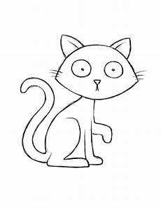 Malvorlage Schwarze Katze Creatively Craft 4 Coloring