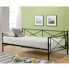 daybed frame size metal platform day bed heavy duty