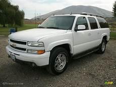 2003 Chevy Suburban Lights Summit White 2003 Chevrolet Suburban 1500 Z71 4x4 Exterior