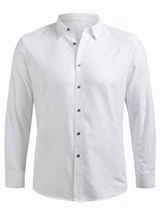white button up shirt sleeve 24 2020 button up sleeve shirt in white zaful