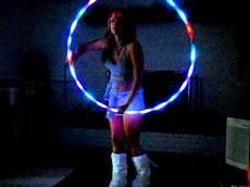 Hula Hoop Girl Lights Led Hula Hoop Light Up Rave And Dance Hula Hoop With 36