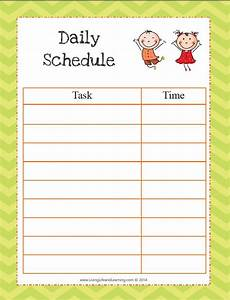 Printable Daily Schedule Kids Why Do Toddlers Need A Routine