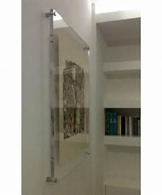 plexiglass cornici cornice cm 80x40 a giorno in plexiglass con distanziali