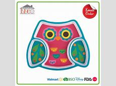 Designer Personalized Melamine Plates For Kids Pretty
