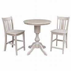 shop pedestal counter height table and 2 san remo