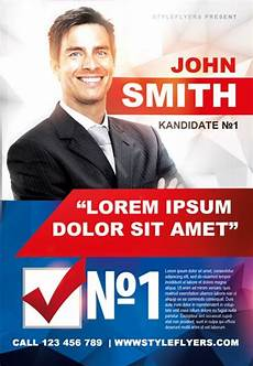 Campaign Poster Template Free Political Campaign Free Flyer Template Download For