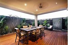 small alfresco area the screening with