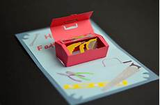 Pop Up Card Template How To Make A Father S Day Toolbox Pop Up Card Creative