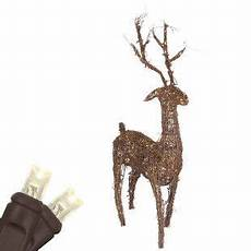 Warm White Hanging Christmas Lights Grapevine Standing Reindeer Warm White Led Outdoor Yard