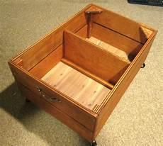 12 inch drawer on wheels bed storage cherry finish