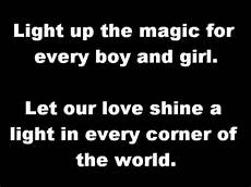 Love Light Lyrics Amp The Waves Love Shine A Light Lyrics Youtube