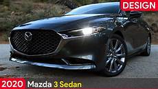 Mazda 3 2020 Sedan by 2020 Mazda 3 Sedan Machine Gray Metallic Exterior