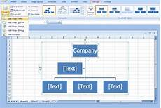 Org Chart Excel How To Draw Organizational Charts Lines In Excel In Few