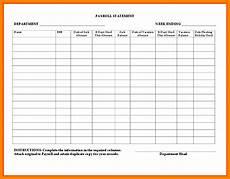Weekly Payroll Sheet 8 Payroll Ledger Template Simple Salary Slip